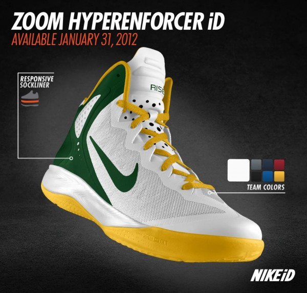 Nike Zoom Hyperenforcer iD - Release Date + Info  1d692c780b
