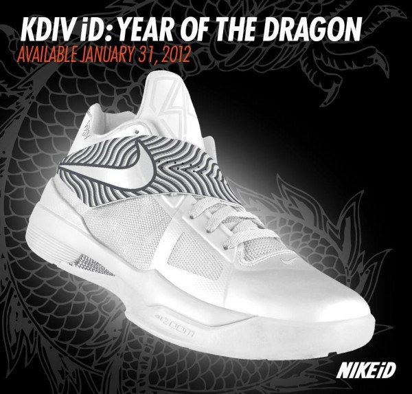 Nike Zoom KD IV 'Year Of The Dragon' Coming to NikeiD