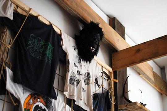 Pushead x Nike SB Installation at Berlin's Civilist
