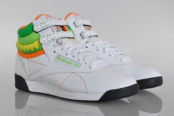 Reebok Freestyle Hi 'Sushi International Edition' - Now Available