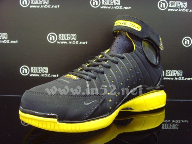 Nike Zoom Huarache 2K4 'Black/Del Sol' - New Images