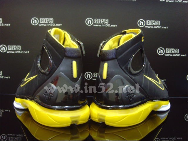 Nike Zoom Huarache 2K4 'Black/Del Sol' - New Images