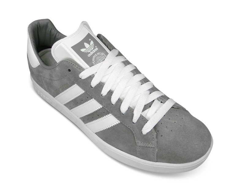 lowest price 418cd 075c9 adidas Originals by David Beckham Grand Prix Grey Suede - Now Available   SneakerFiles