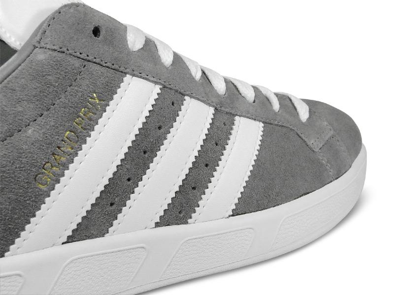 adidas Originals by David Beckham Grand Prix 'Grey Suede' - Now Available