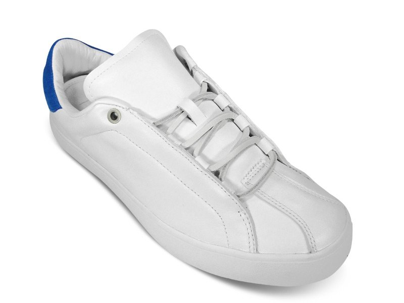 pretty nice 20a58 eee98 adidas Originals by David Beckham Doley Running WhitePrime Blue - Now  Available
