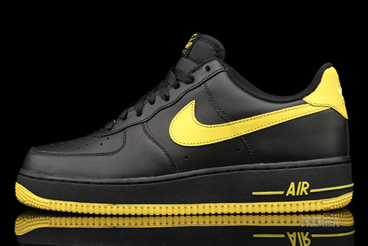 Release Reminder: Nike Air Force 1 Low 'Black/Varsity Maize'
