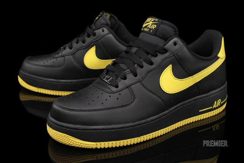 Nike Air Force 1 Low 'Black/Varsity Maize' - Now Available