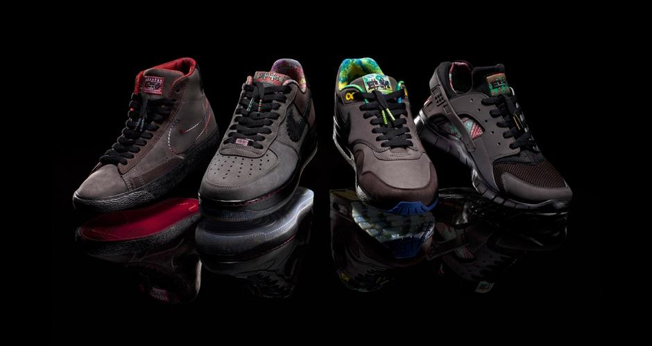 Nike Huarache Gratuit 2012 Bhm Arène Nrg