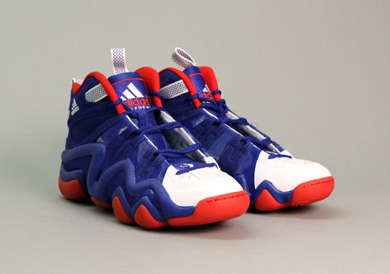 adidas Crazy 8 'Blue/White-Red' - Now Available
