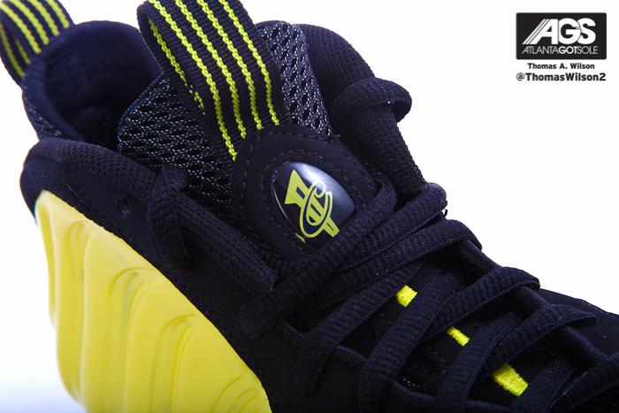 Nike Air Foamposite One 'Electrolime' - Detailed Look
