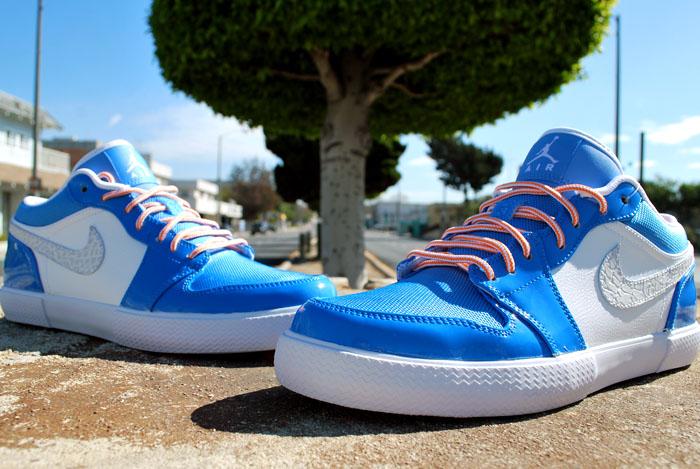 Air Jordan Retro V.1 'Italy Blue'