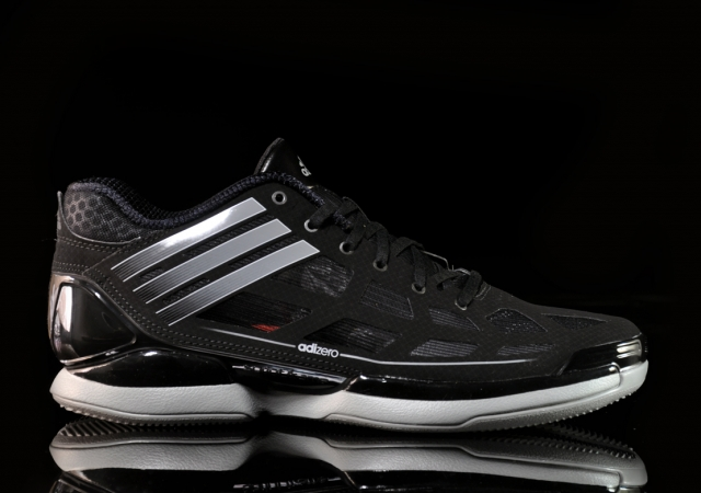 adidas adiZero Crazy Light Low 'Black/Shift Grey' - Now Available