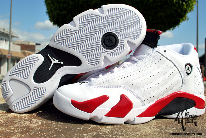 finest selection 5dc22 edc84 italy air jordan 14 white and red bf439 848ea