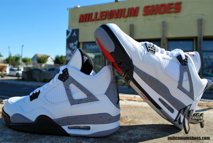 Air Jordan IV (4) 'White/Cement' - Arriving at Retailers