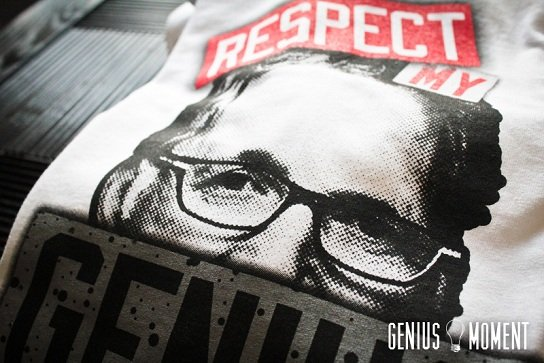 "Air Jordan Retro IV (4) - Tinker Hatfield ""Respect My Genius"" T-Shirt"