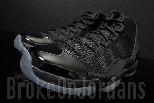 "Air Jordan Retro XI (11) ""Blackout"" Sample"