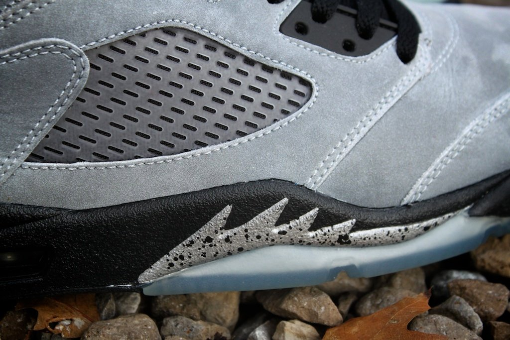 Air Jordan V (5) Retro Custom  Metallic  by Proof Culture  22ee8cb62