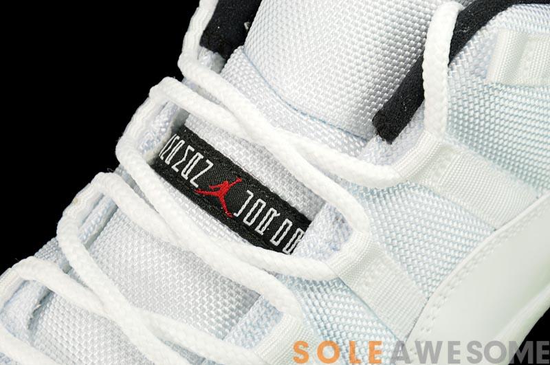 Air Jordan XI (11) Low 'White/Black-Varsity Red' - Another Look