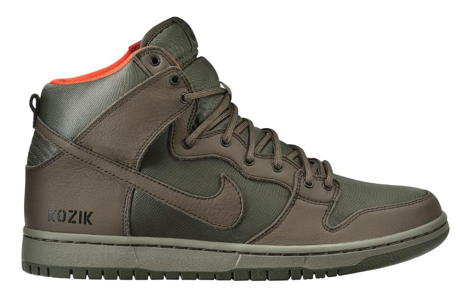 Frank Kozik x Nike SB Dunk High QS - First Look