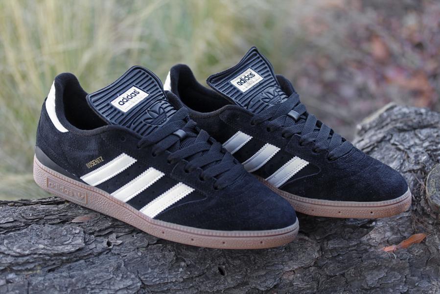 adidas Skate Busenitz 'Black/Running White-Gum' - Now Available