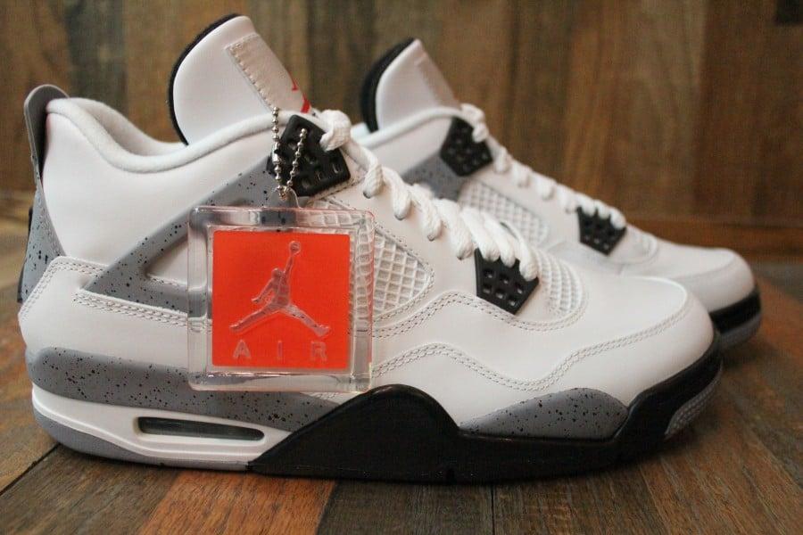 Air Jordan IV (4) 'White/Cement' - Final Look