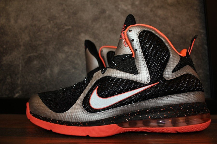 on sale eb00e 6f259 Nike LeBron 9  Bright Mango  - New Images