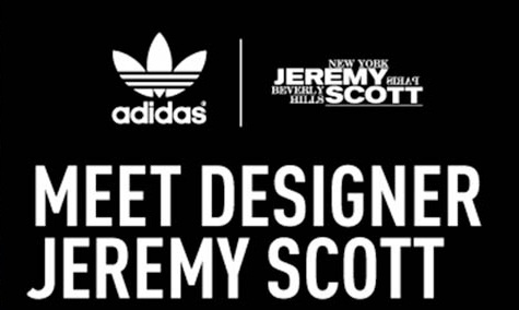 Jeremy Scott x adidas Originals NYC In-Store Event