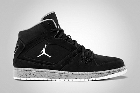 Jordan 1 Flight - Black/Cement Grey