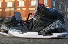 "Jordan Spizike ""Black Cement"" Customs"