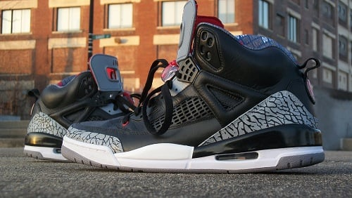 "Jordan Spizike ""Black Cement"" Customs"
