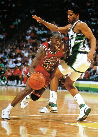 "Michael Jordan In The ""White Cement"" Air Jordan Retro IV (4)"