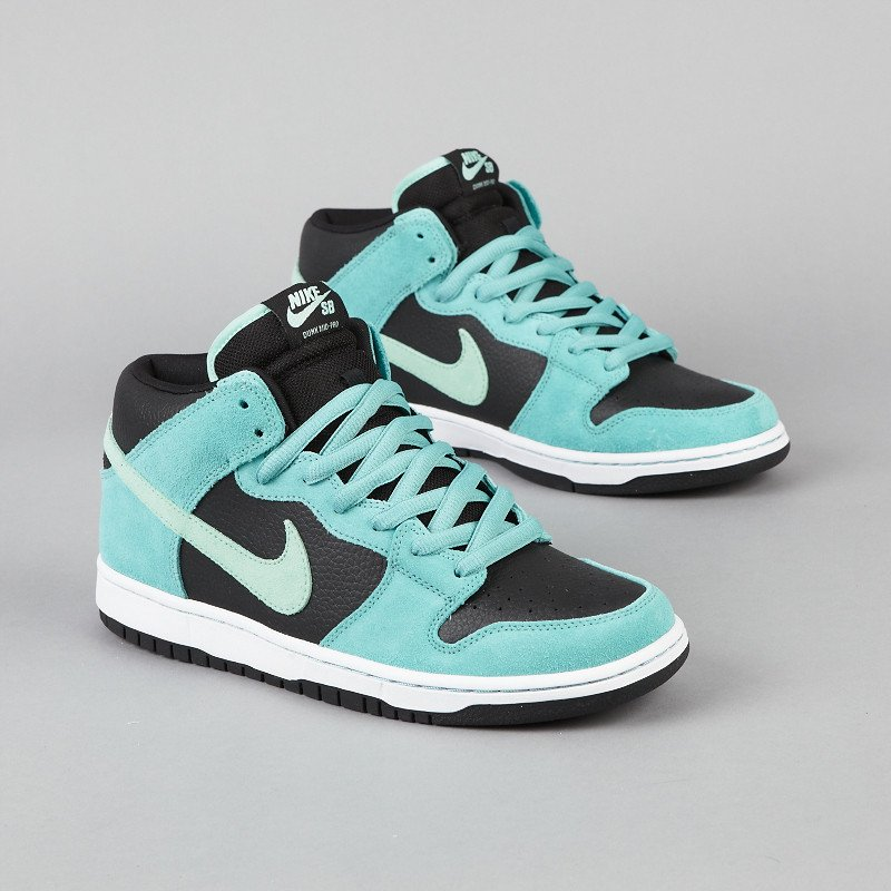 Nike SB Dunk Mid 'Sea Crystal' - Now Available