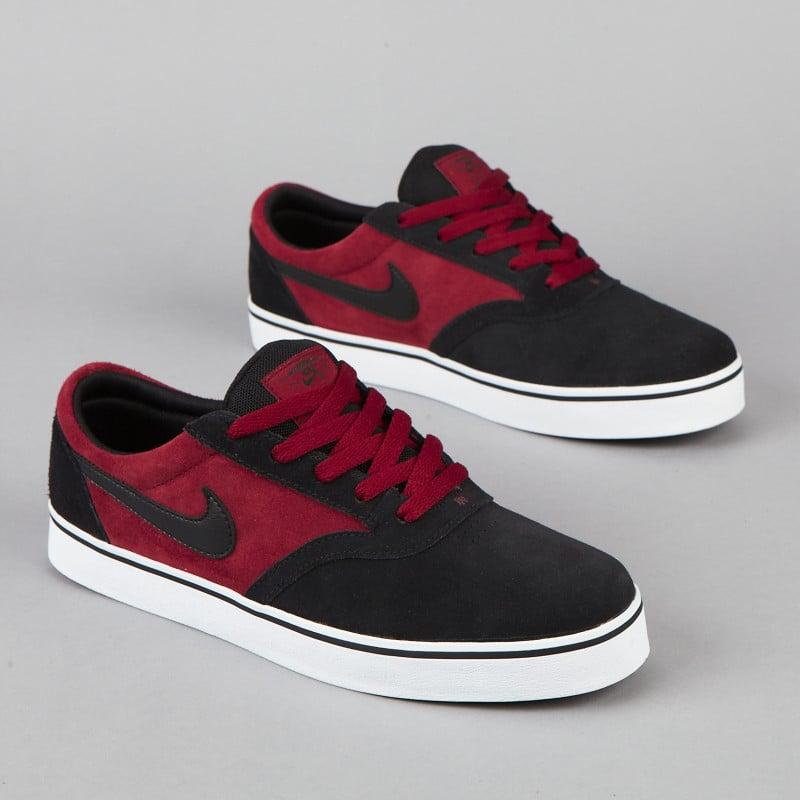 Nike SB Vulc Rod  Team Red Black  - Now Available  453371cb2