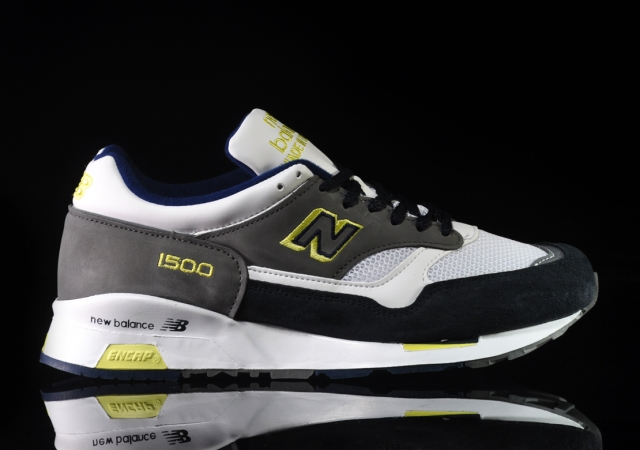 New Balance M1500 Grey/Navy-Lime - Now Available