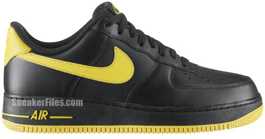 new concept 40db5 9bf16 Nike Air Force 1 Low - Black Varsity Maize
