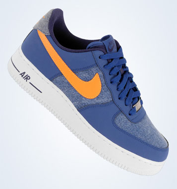 online store 30154 ecded Nike Air Force 1 Low - Storm Blue Vivid Orange