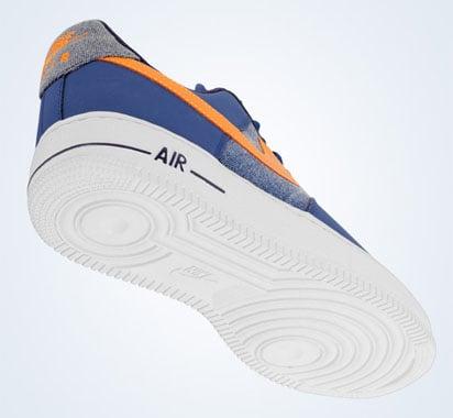 Nike Air Force 1 Low - Storm Blue/Vivid Orange