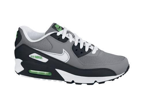 Nike Air Max 90 'Cool Grey/White-Hyper Verde'