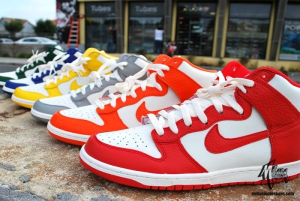 Release Reminder: Nike Dunk High Sail Pack