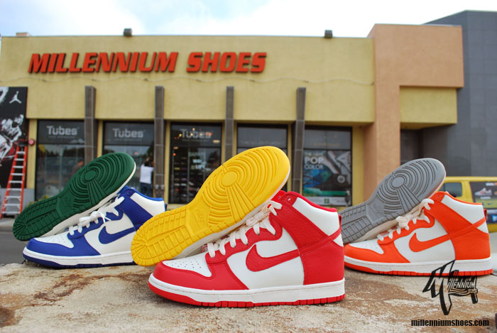 Nike Dunk High 'Sail' Pack - Release Date + Info