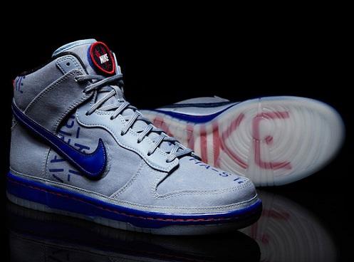 Nike Dunk High 2012 NBA All-Star Galactic - Blue/Grey