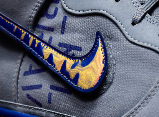Nike Dunk High 2012 NBA All-Star Galactic - Blue/Grey