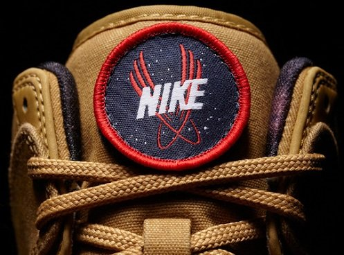 Nike Dunk High 2012 NBA All-Star Galactic - Flat Gold