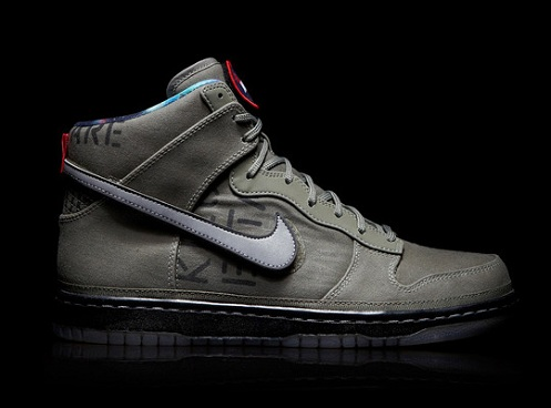 Nike Dunk High 2012 NBA All-Star Galactic - Rogue Green