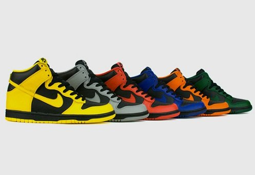 Nike Dunk High - March Madness Pack