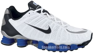 Nike Shox TLX White Black Blue Silver Release Date