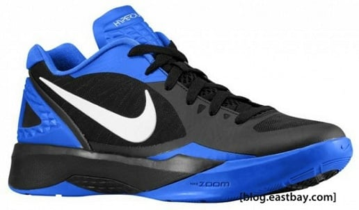 Nike Zoom Hyperdunk 2011 Low - Black/Treasure Blue