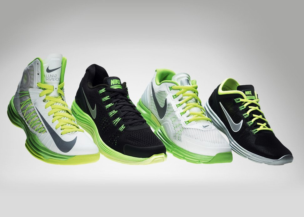 Nike Lunarlon Collection Unveiled