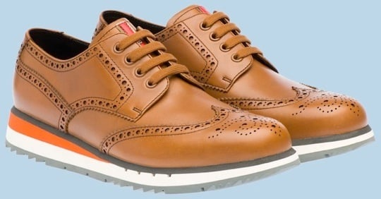 Prada Wingtip Derby Sneakers - Spring 2012