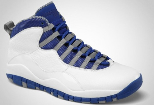 Release Reminder: Air Jordan Retro X (10) White/Old Royal-Stealth